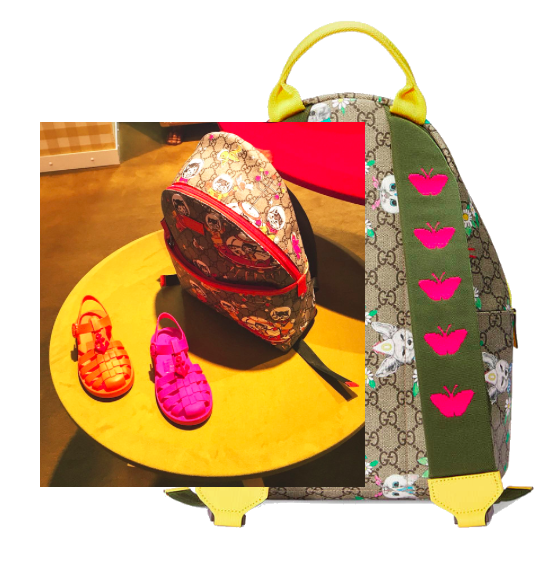 Sandals & backpack - Gucci for girls