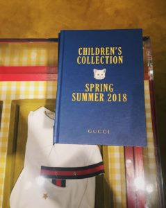 Gucci children's collection spring-summer 2018