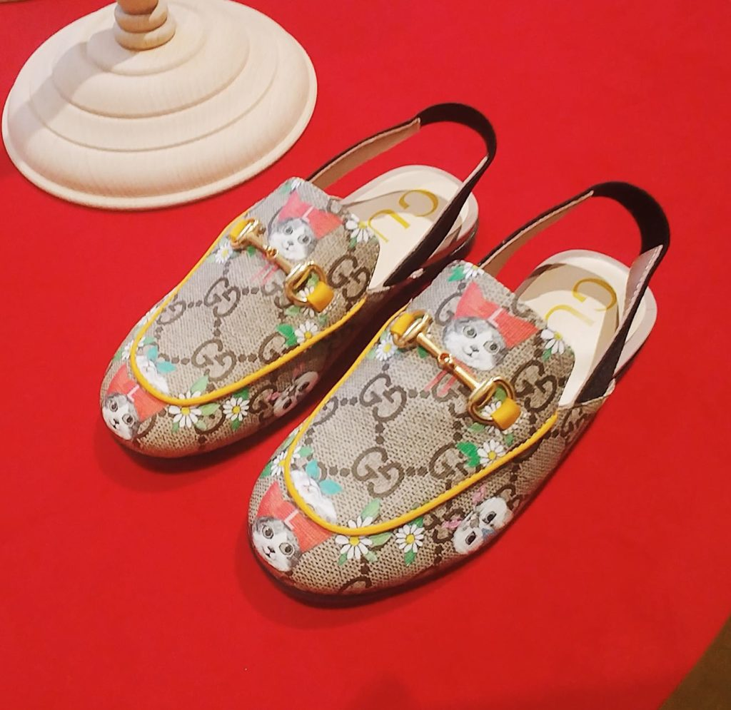 Mocassins Gucci for girls