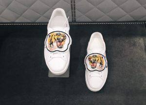 """Кроссовки Gucci с патчем """"тигр"""""""