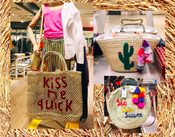 Wicker bags summer 2018