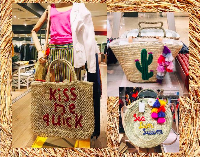 Плетеные сумки (тренд лета 2018)