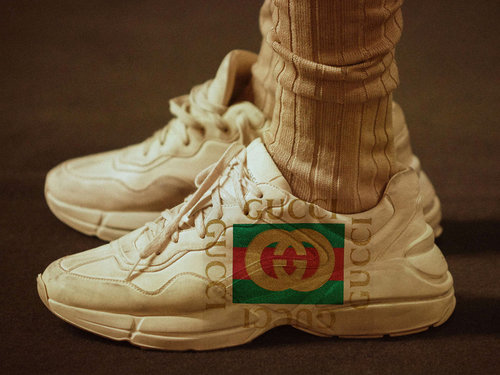 Gucci Apollo Leather Sneakers