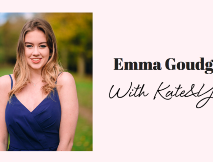 Emma Goudge with Kateandyou