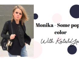 Some pop of color - blog