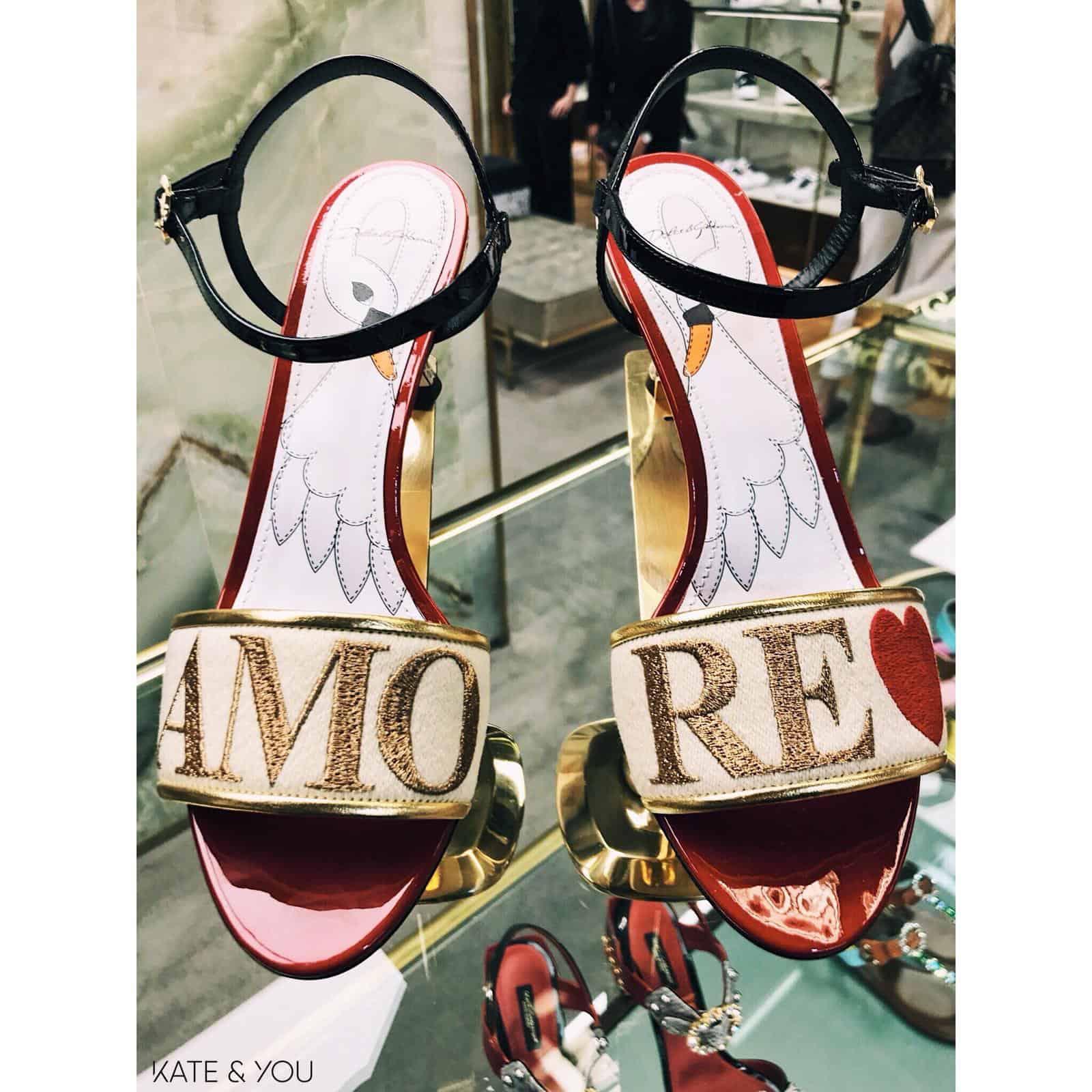 DG sandals - amore