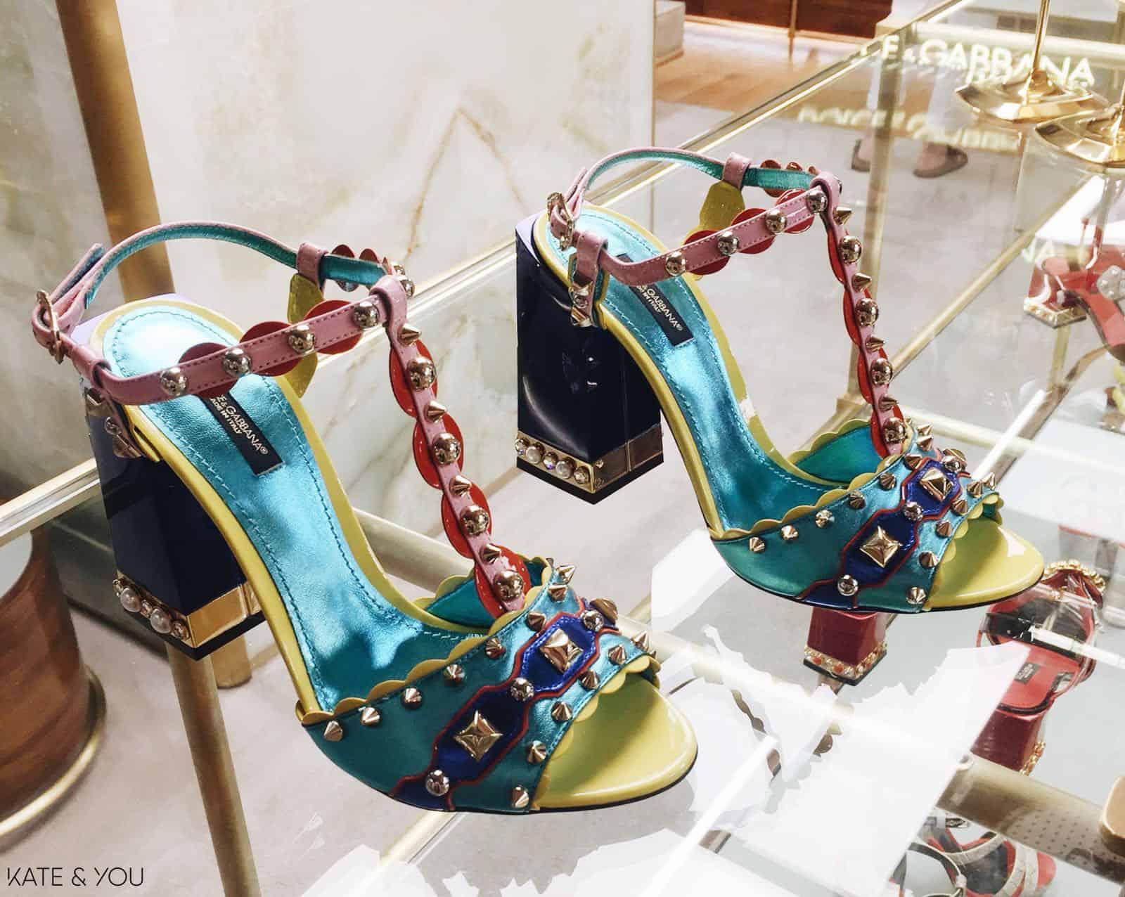 DG sandals - colorful