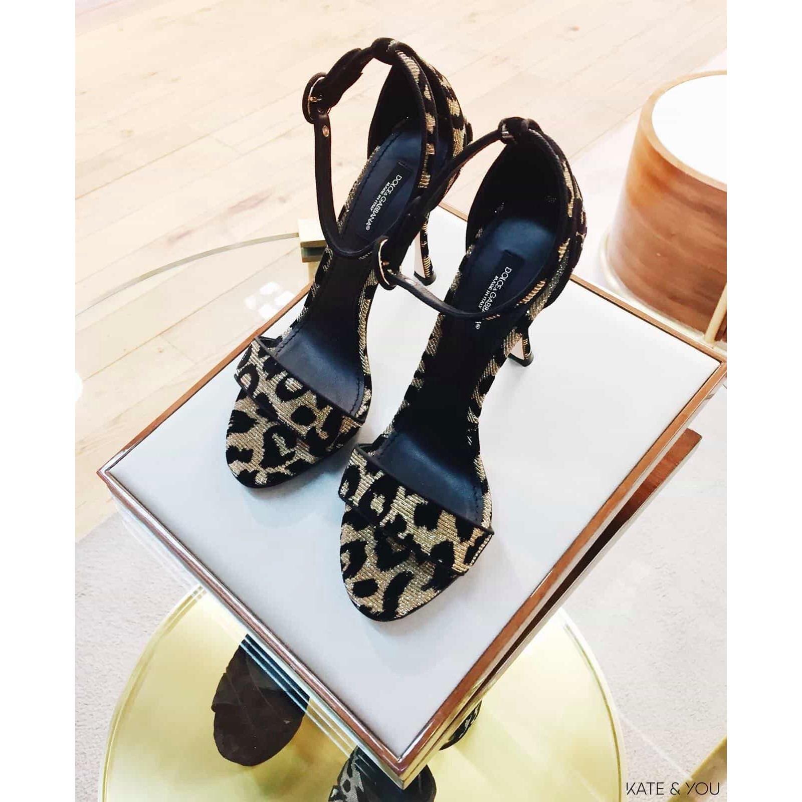 DG sandals - leopard