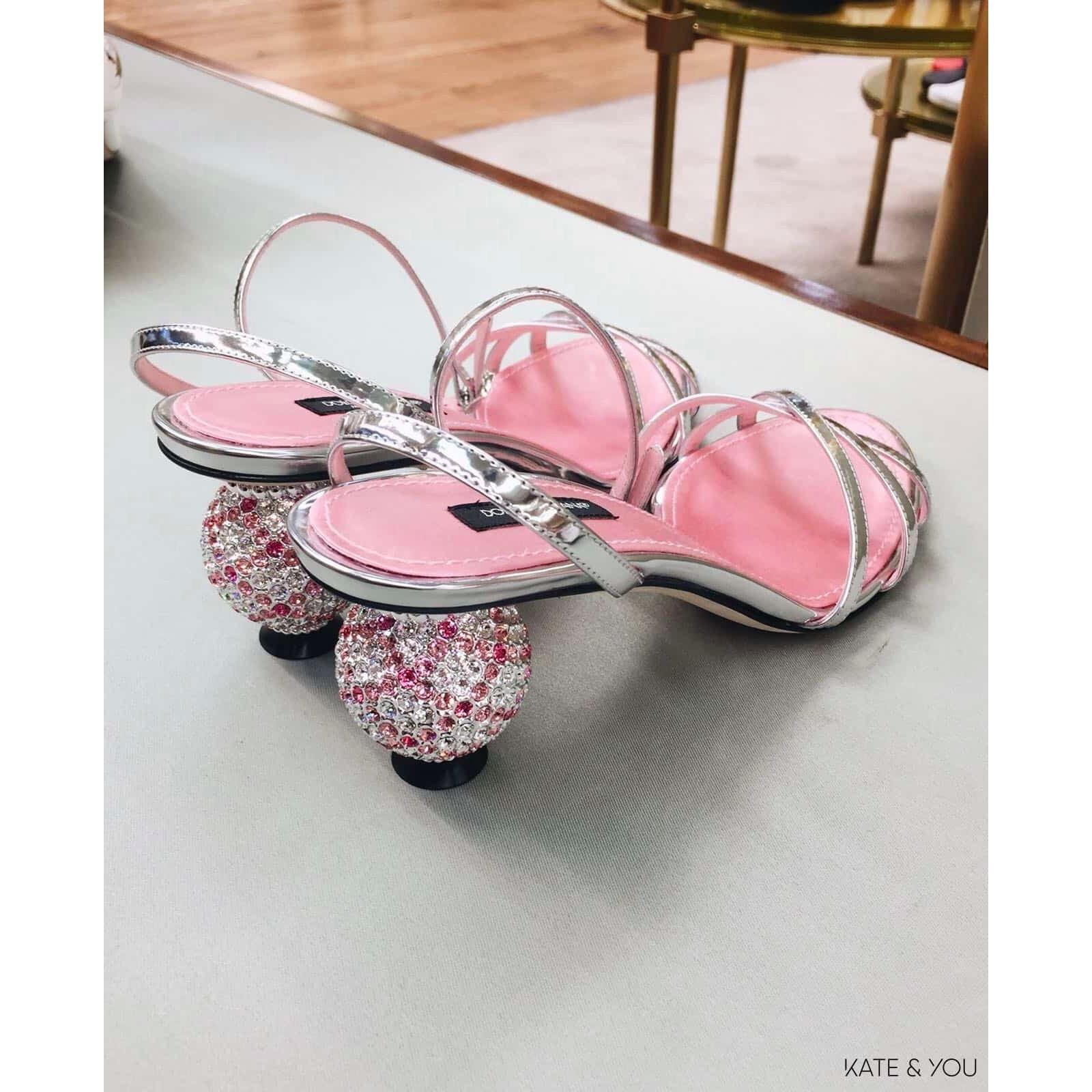 DG sandals - sparkly