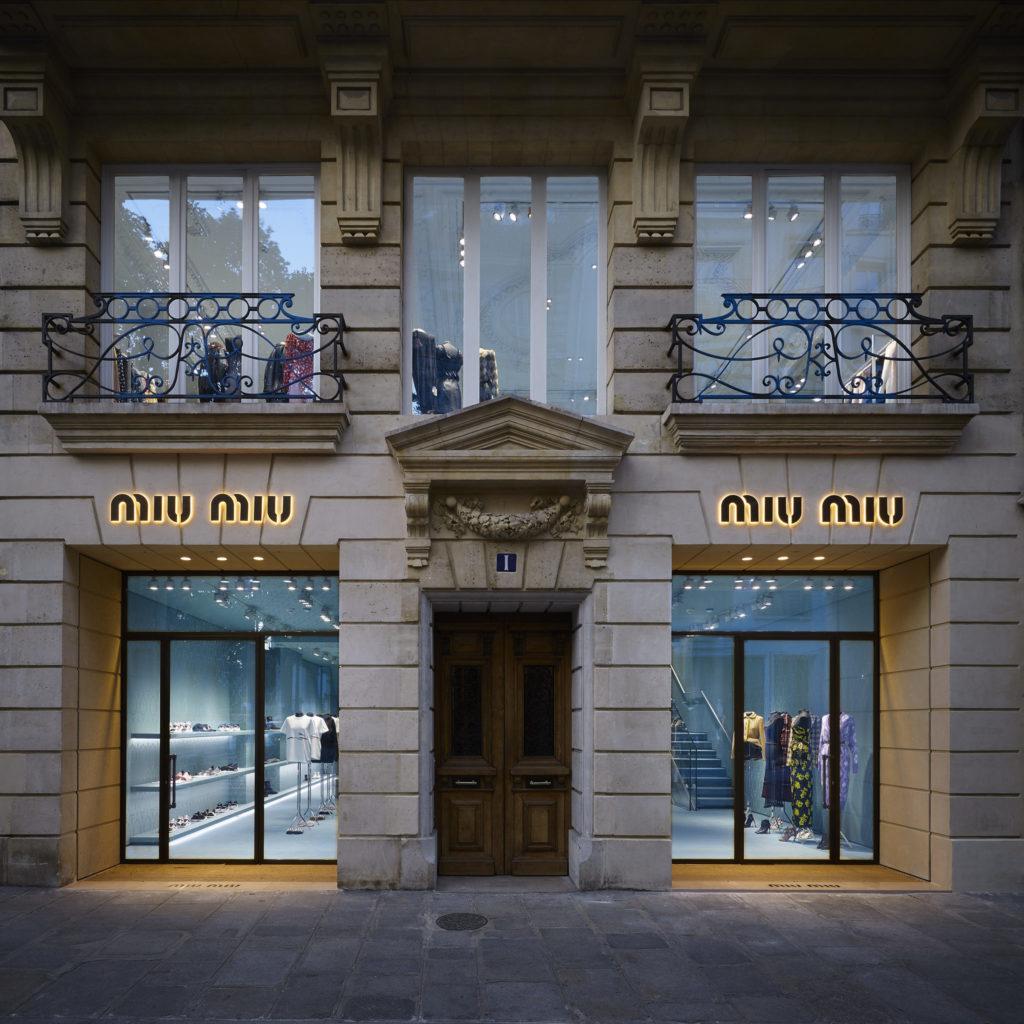 Miu Miu boutiques 1 rue Faubourg Saint-Honore